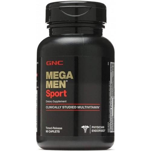 GNCメガメンズスポーツ90カプレット-45日間の供給