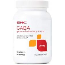 GNC GABA 750mg、不安を和らげ、気分を改善します
