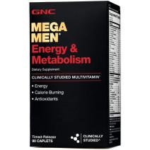 GNCメガメンエネルギー&メタボリズム90カプレット-45日間の供給
