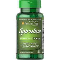 スピルリナ 500 mg タブレット