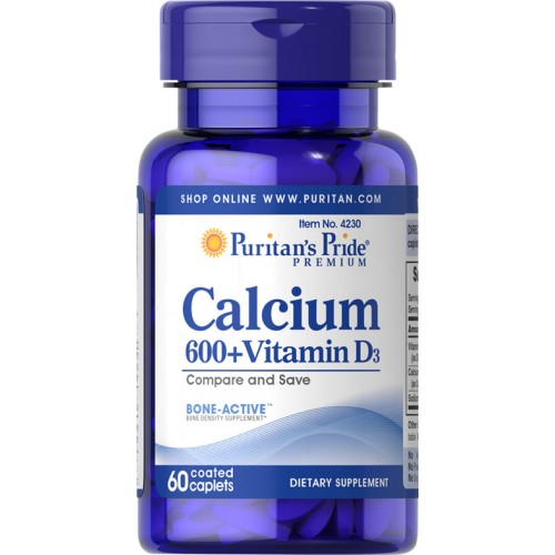 カルシウム 600 mg.・ビタミンD配合