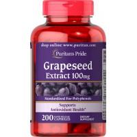 グレープシードエキス 100 mg.