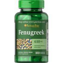 フェヌグリーク 610 mg.