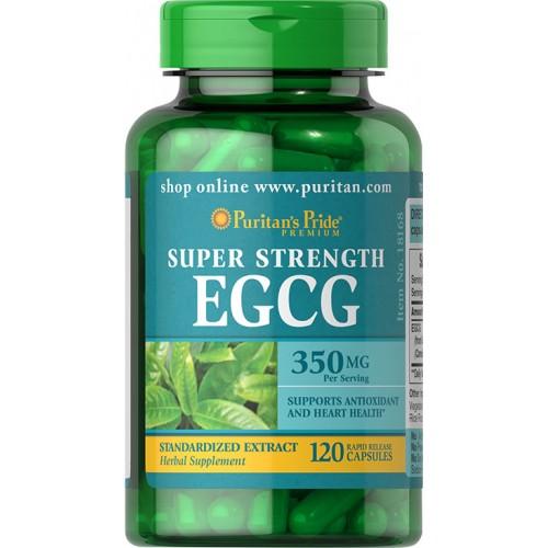 スーパーストレングス EGCG(エピガロカテキンガレート)350 mg.