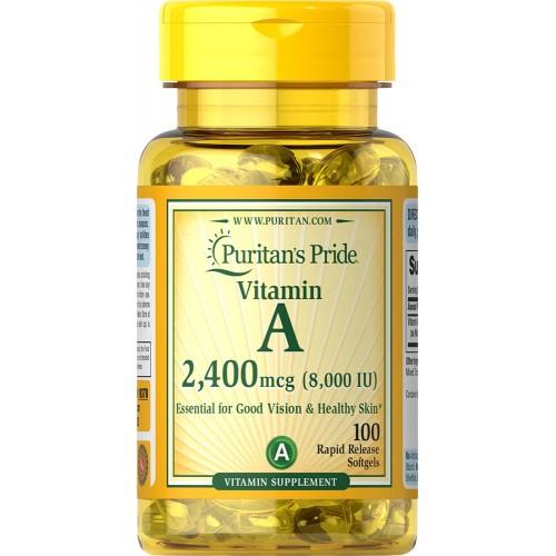 ビタミン A 8,000 IU