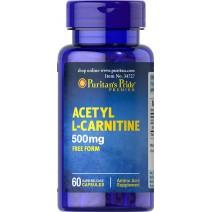 アセチルL-カルニチン 500 mg.