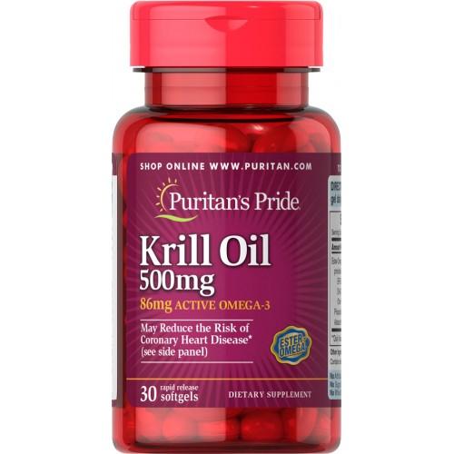 オキアミオイル 500 mg(活性オメガ‐386 mg 含有)