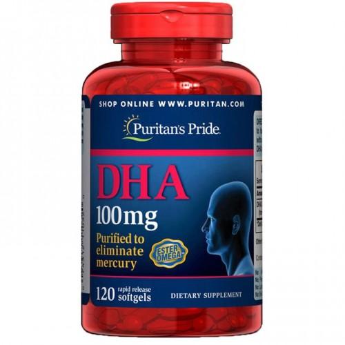 ドコサヘキサエン酸 ・DHA 100 mg.