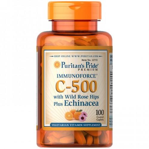 ビタミンC-500・ローズヒップ、エキナセア配合