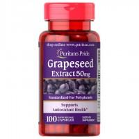 グレープシードエキス 50 mg.