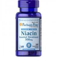 フラッシュフリーナイアシン 500 mg.