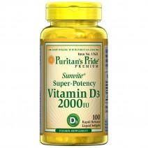 ビタミンD (D-3)  2000 IU