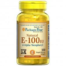天然型ビタミンE-100IU