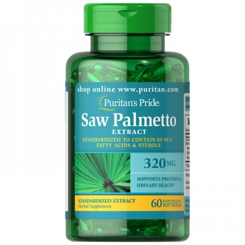 ソーパルメット(ノコギリヤシ)320 mg.