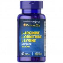 L-アルギニン・ L-オルニチン・ L-リジン