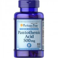 パントテン酸 500 mg. タイムリリース